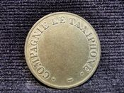 France, 20th Century Telephone Token, VF, AC167